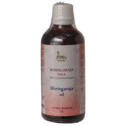 Organic Bhringraj Oil - 100ml (USDA Certified Organic)